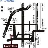 ラブリーホール地図